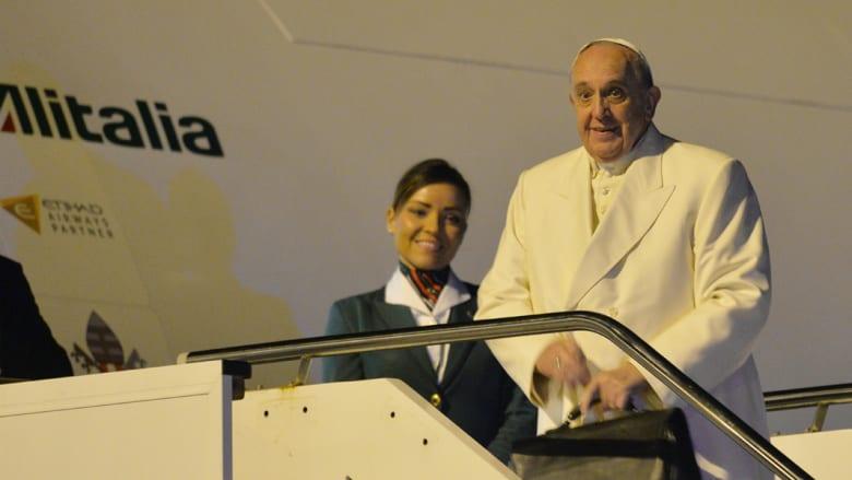 البابا فرانسيس: حرية التعبير حق ولكن هناك حدود عندما تسيء الى الأديان