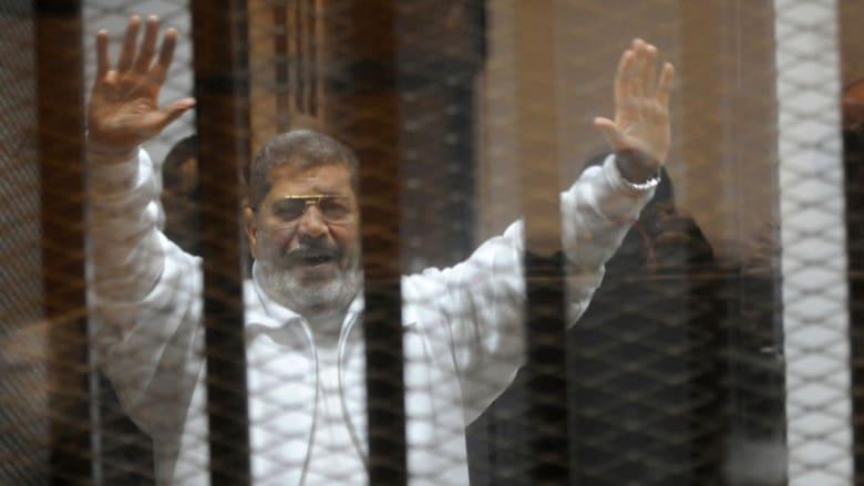 مرسي: تولي عدلي منصور الرئاسة كان باطلا بالقانون.. ولو استحوذ الإخوان على السلطة بالفعل لن يحصل ما نراه اليوم