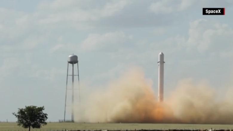 بعد انفجار أول صاروخ قابل لاعادة الاستخدام.. فالكون 9 أمام تحد كبير