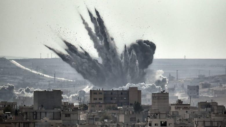 """تزامناً مع طلب أوباما قراراً باستخدام القوة.. 23 غارة على مواقع """"داعش"""" في سوريا والعراق.. هذه نتائجها"""