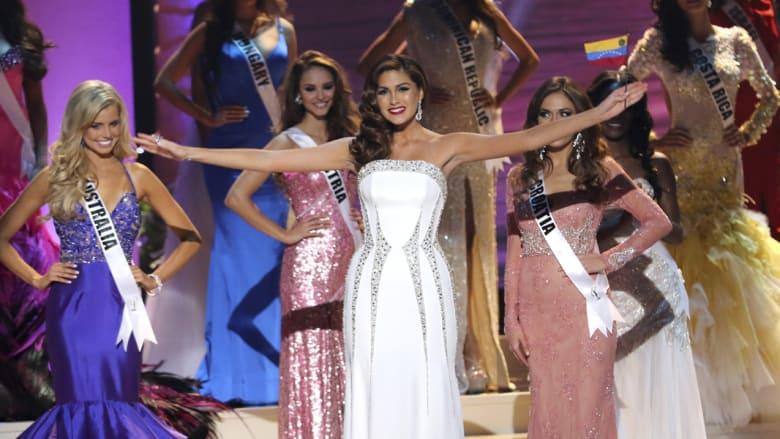 ملكة جمال الكون للعام السابق غابرييلا إيسلر