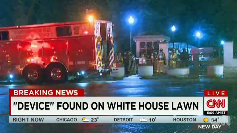 """العثور على ما يعتقد أنها """"طائرة دون طيار غامضة"""" داخل حرم البيت الأبيض"""