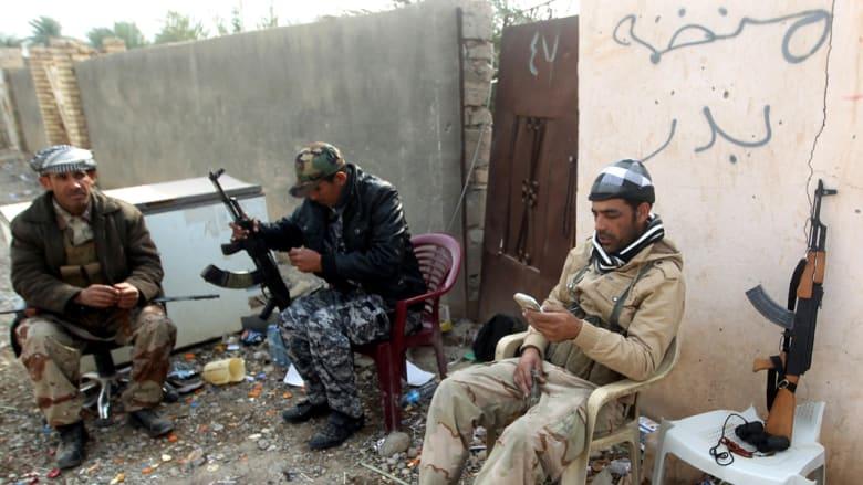 اختطاف زعيم ميليشيا شيعية في بغداد والعبادي يؤكد: داعش ضعيف والانتصار عليه بات قريبا