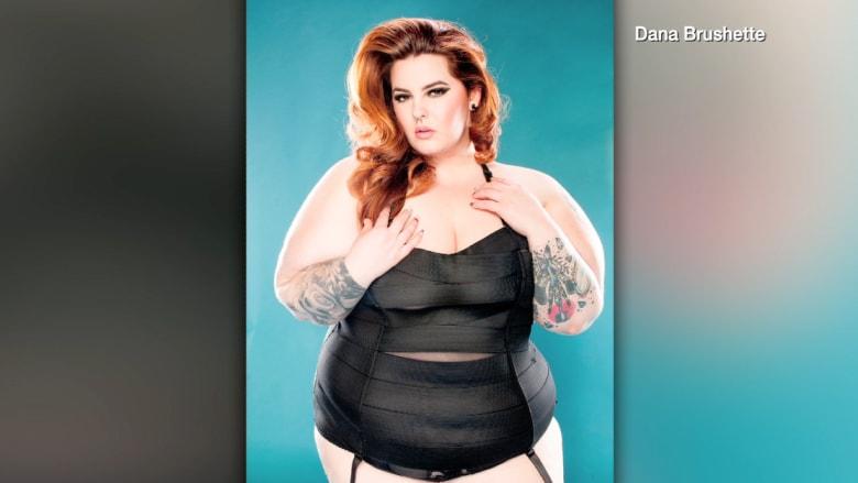 """عارضة أزياء غير تقليدية تشجع أصحاب مقاسات """"الحجم الكبير"""""""