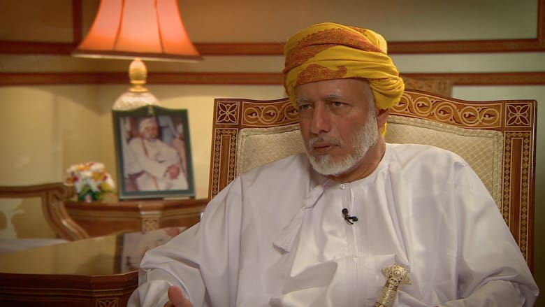 وزير خارجية عمان يتحدث لـCNN عن دور بلاده في الوساطة بين أمريكا وإيران