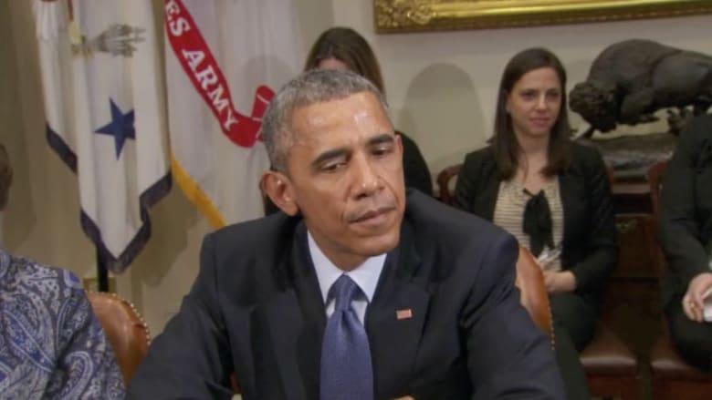 أوباما: فيديو إعدام داعش للطيار الأردني دليل على وحشية التنظيم