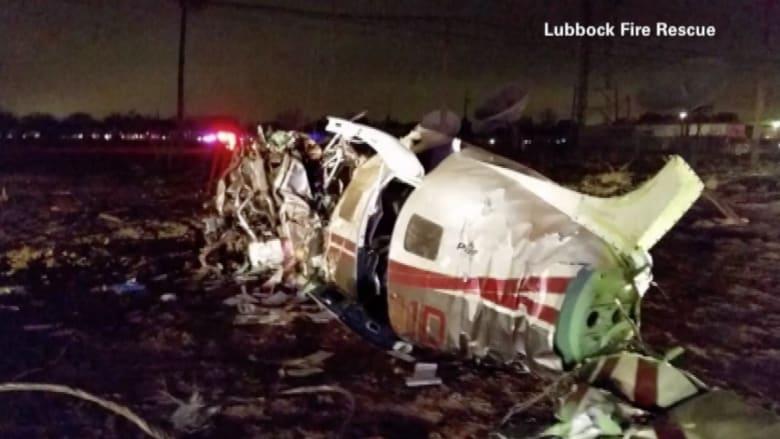 بالفيديو.. شاهد اصطدام طائرة ببرج إرسال تلفزيوني في تكساس