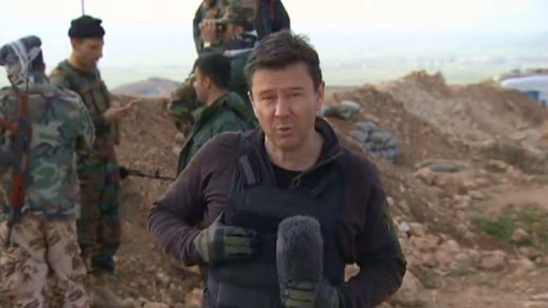 كاميرا CNN في خطوط دفاع البيشمرغة .. رصد للصراع على الموصل