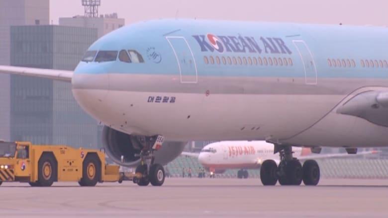 حفنة من المكسرات تؤخر طائرة كورية قادمة من نيويورك