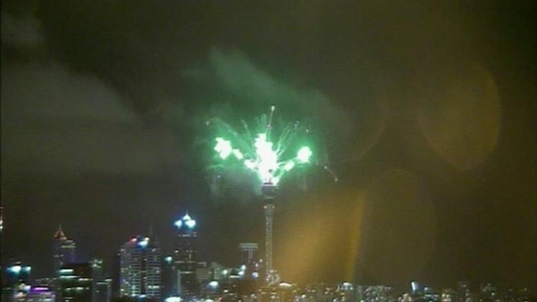 بالفيديو.. نيوزيلندا تحتفل بالعام الجديد