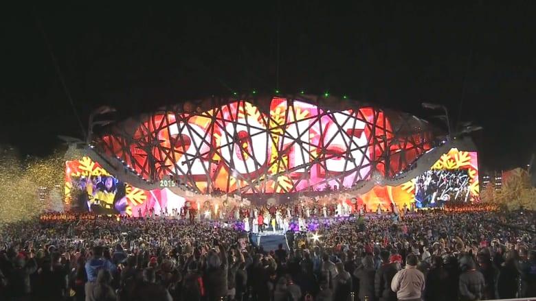 الصين تدخل 2015 باحتفالات ضخمة