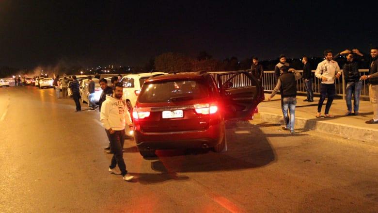 بالصور.. احتفالات عراقيين برفع حظر التجوال الليلي ببغداد بعد نحو عقد من الزمن