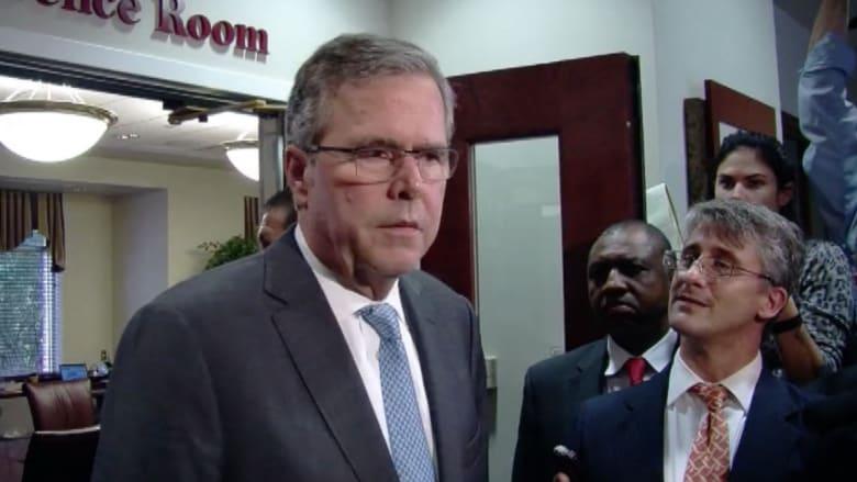 جيب بوش لـCNN: داعش خطر على العالم والخلافة تتحدى طريقة عيشنا