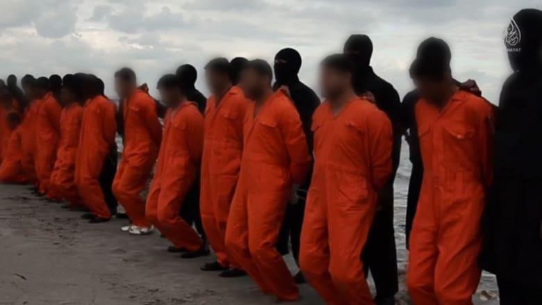 بعد فيديو داعش الذي يظهر قتل رهائن مصريين بليبيا.. إعلان الحداد 7 أيام واستنكار من الكنيسة والأزهر