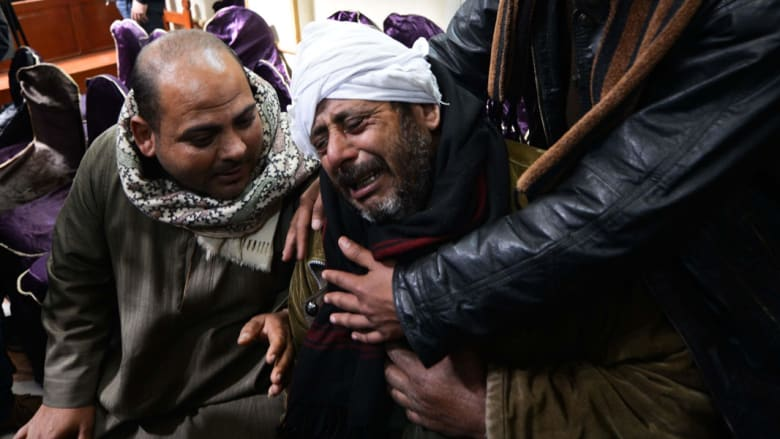بالصور.. ردود فعل أهالي المصريين المقتولين بأيدي داعش في ليبيا