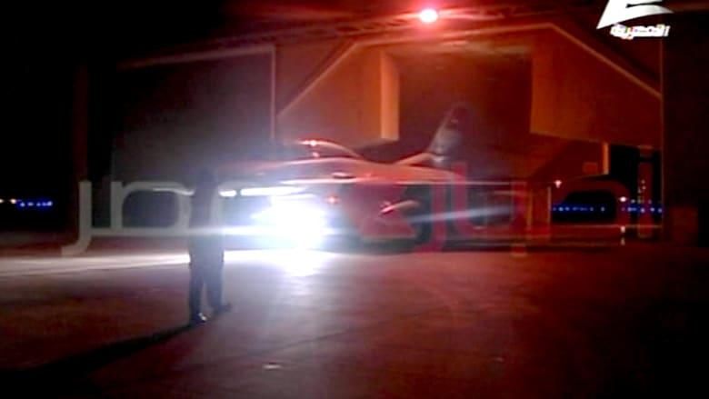 شاهد انطلاق المقاتلات المصرية لقصف مقرات داعش بليبيا