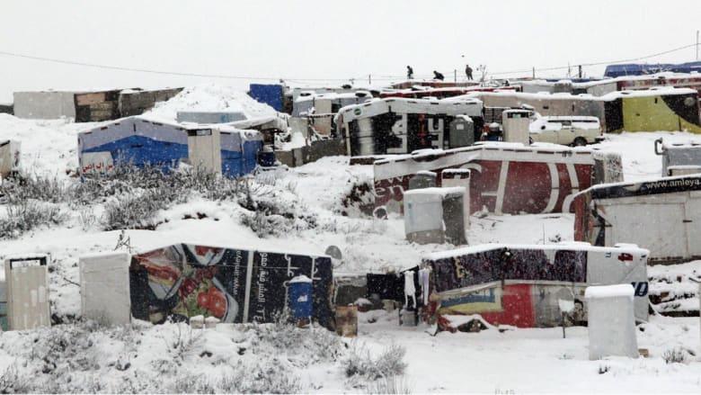 """بالصور.. عاصفة """"جنى"""" تضرب الشرق الأوسط"""