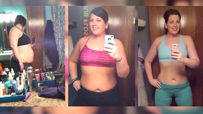 """شاهد كيف أزالت هذه السيدة أكثر من 50 كلغ من """"وزن علاقتها الزوجية"""""""