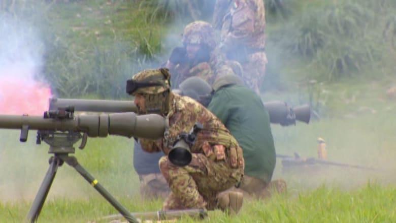 بالفيديو.. تدريبات قوات التحالف لمقاتلي البيشمرغة بالعراق