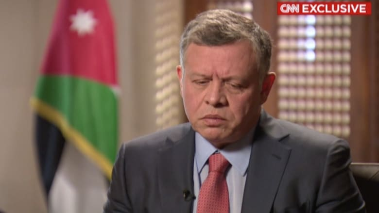 بأول مقابلة منذ إحراق الكساسبة.. العاهل الأردني لـCNN: داعش حاول إرهاب الأردنيين وما حدث هو العكس