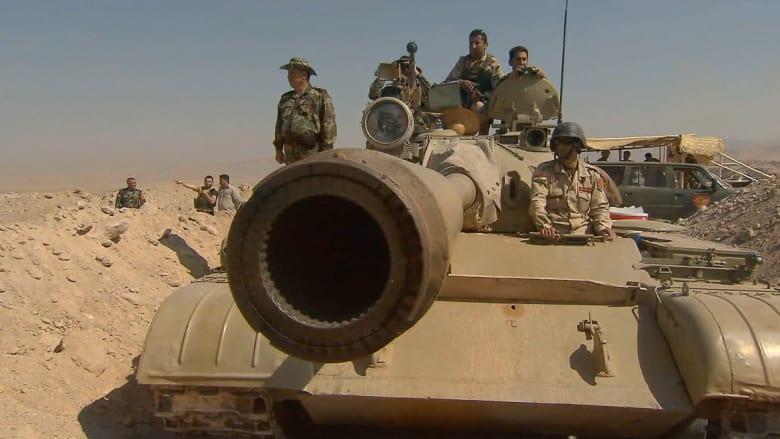 """القوات العراقية تلاحق مقاتلي """"داعش"""" بعد استعادة بلدتين شمال بغداد"""