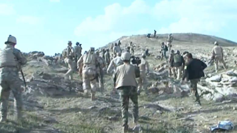 شاهد.. أولى العمليات البرية للقوات العراقية ضد داعش