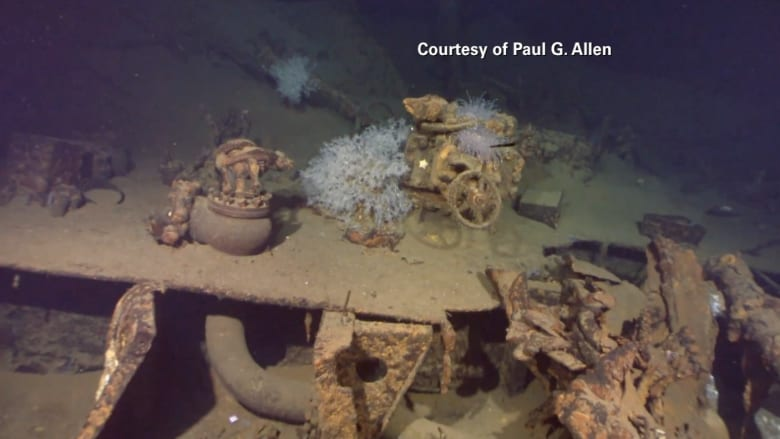 شاهد.. اكتشاف بقايا سفينة حربية من الحرب العالمية الثانية تحت الماء