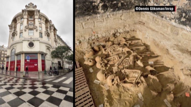 بالفيديو.. اكتشاف 200 هيكل عظمي تحت أرضية سوبرماركت بفرنسا