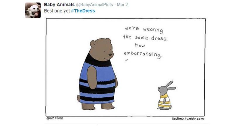 جنون الفستان.. ماذا قال مستخدمو تويتر بعد الجدل العالمي حوله؟