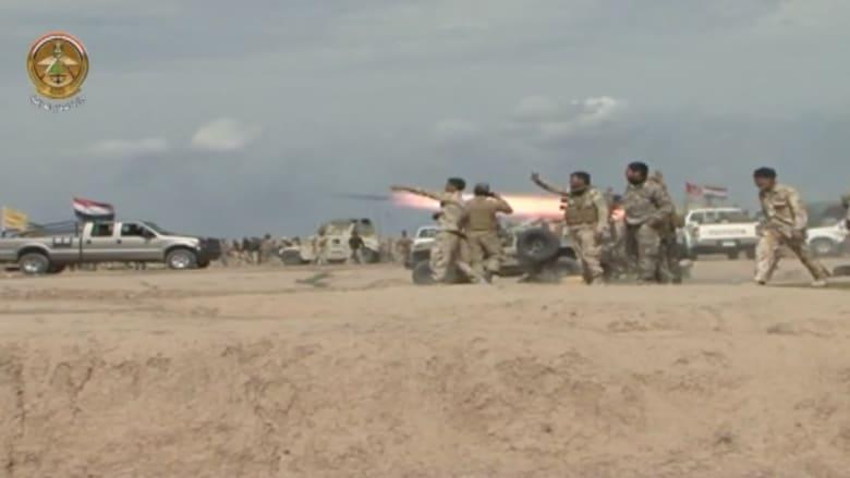 بالفيديو.. الجيش العراقي يخوض معارك طاحنة مع داعش لاستعادة تكريت