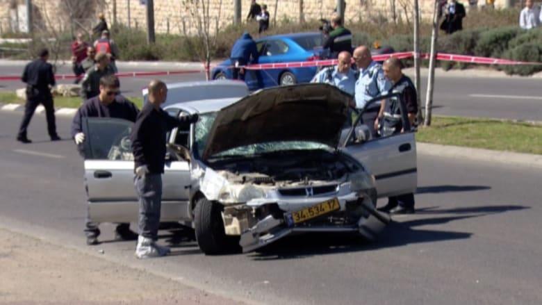 بالفيديو.. المشاهد الأولية لحادثة دهس الشرطيات الإسرائيليات