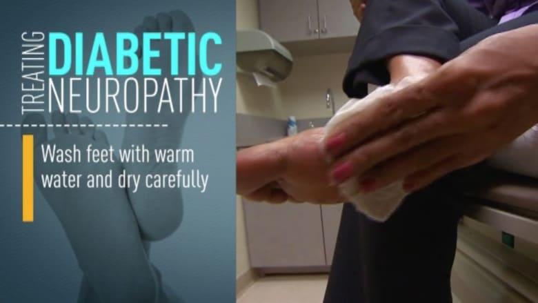 بالفيديو.. تجنب آثار مرض السكري عبر العناية بالقدمين