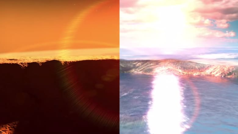 مياه على سطح كوكب المريخ تزيد عن حجم المحيط الأطلسي