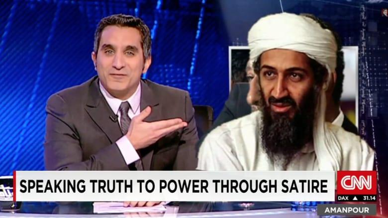 باسم يوسف لـCNN: نضحك على داعش دائما والمصريون سيجدون طرقا للسخرية بعد برنامجي