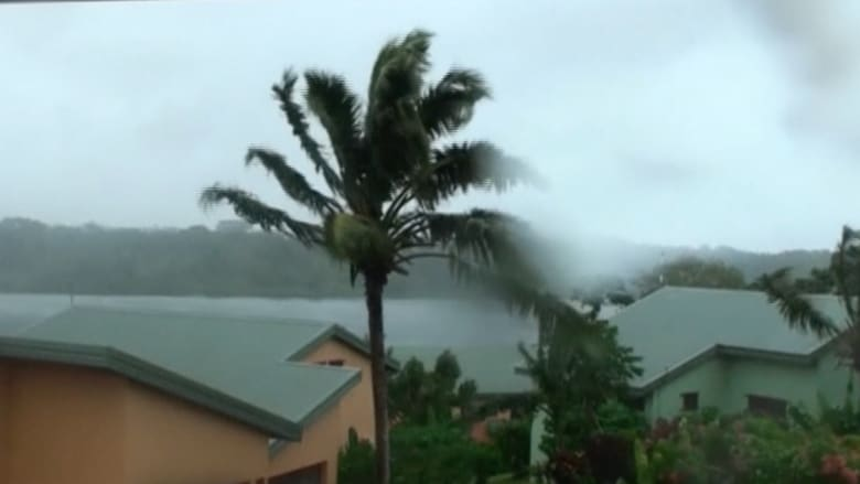 """""""دمار لا يصدق"""" يخلفه إعصار """"بام"""" في أستراليا"""