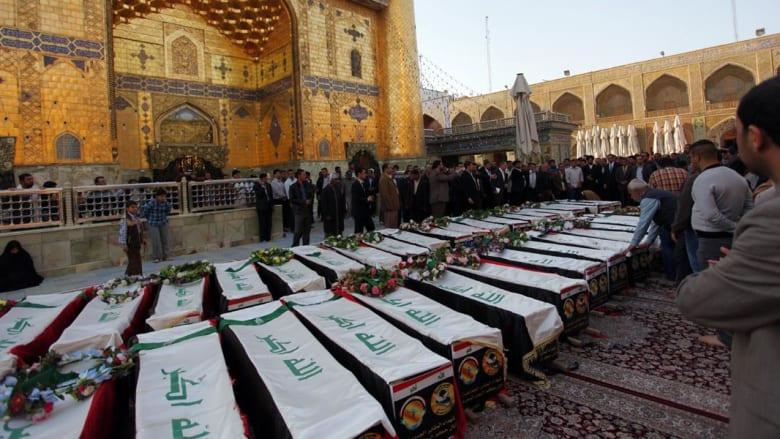 """العراق: اكتشاف مقابر جماعية إحداها تضم 50 تركمانياً.. والعبادي يأمر بحماية رفات ضحايا """"سبايكر"""""""