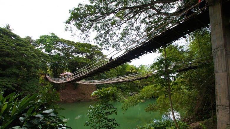 ما هو جسر المشاة الأكثر رعباً في العالم؟