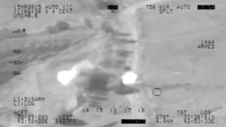 """بالفيديو .. غارات موجعة للطيران العراقي على مواقع """"داعش"""""""