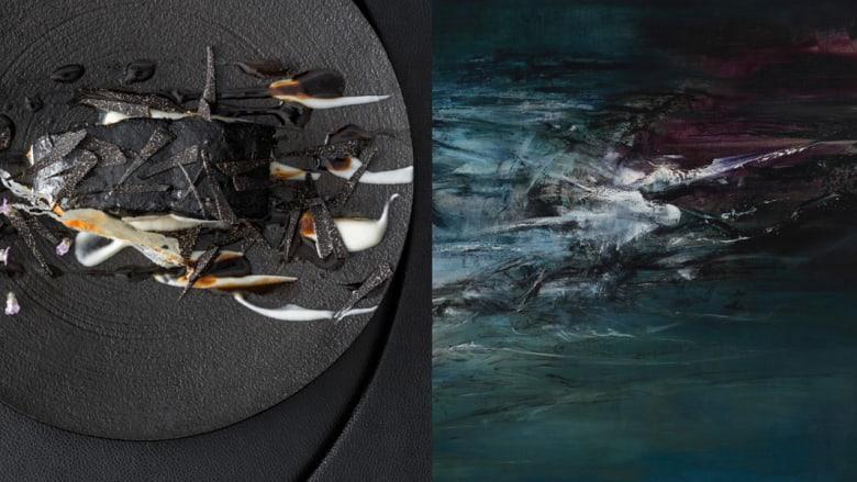 بالصور..أطباق من المأكولات تشكل لوحات فنية بديعة