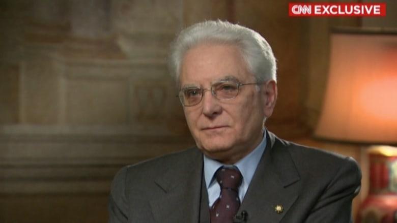 رئيس إيطاليا لـCNN: هجوم تونس يظهر خطر داعش الحقيقي والكبير