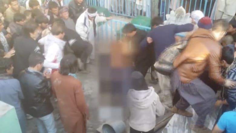 بالفيديو.. ضرب وإحراق أفغانية بتهمة إحراق مصحف