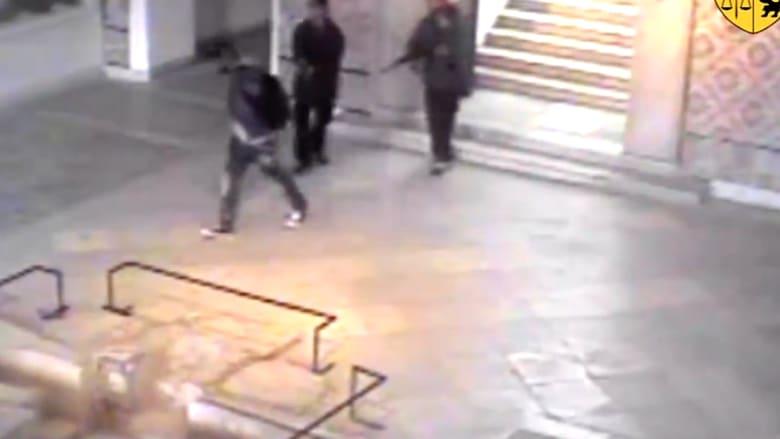 بالفيديو.. التقاط كاميرات مراقبة للهجوم في متحف باردو بتونس