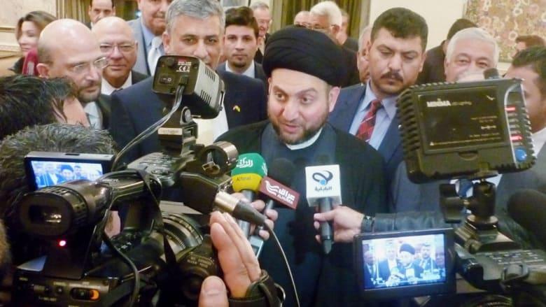 """عمّار الحكيم: سليماني لا يقود معارك ميدانية بالعراق .. والأردن ضمن """"خريطة داعش"""""""