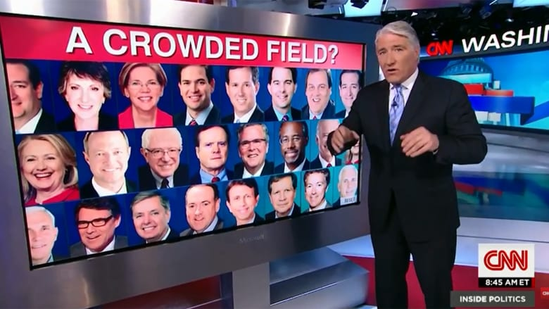استطلاع CNN: من هو أفضل مرشح لانتخابات الرئاسة الأمريكية 2016؟
