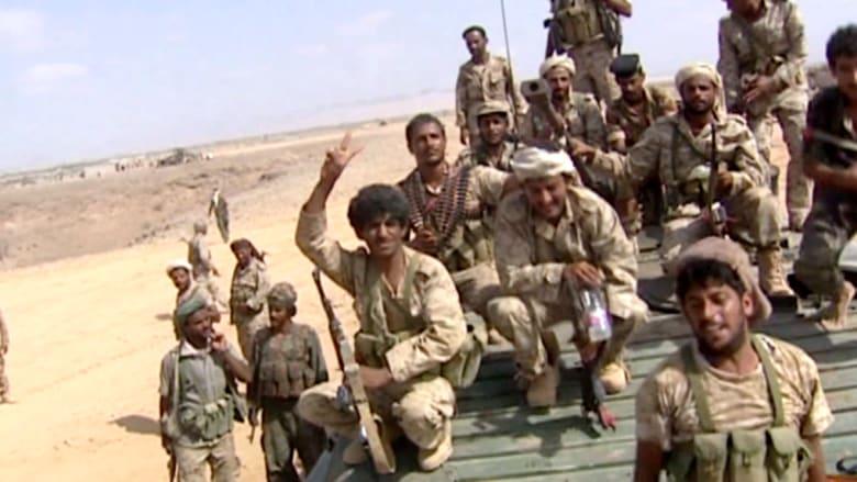 طائرات وقوافل عسكرية حوثية في قاعدة العند العسكرية