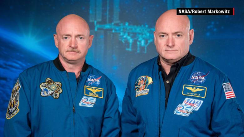 """ناسا تدرس """"تأثير البيئة"""" على توأمين .. أحدهما على الأرض وأخر في الفضاء"""