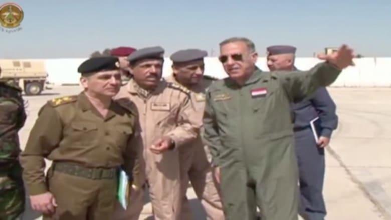 بالفيديو.. وزير الدفاع العراقي يشرف على الضربات ضد داعش بتكريت