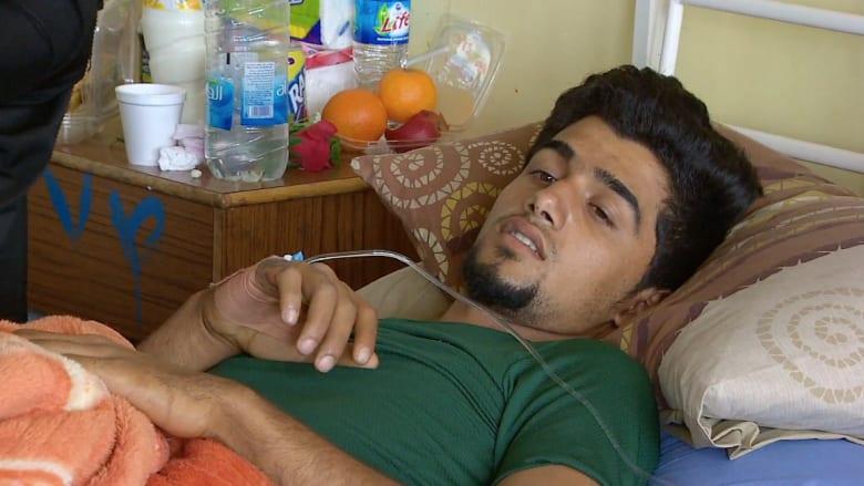 شاهد: CNN تجول في مستشفى ببغداد يعالج جرحى مليشيات تقاتل داعش بتكريت