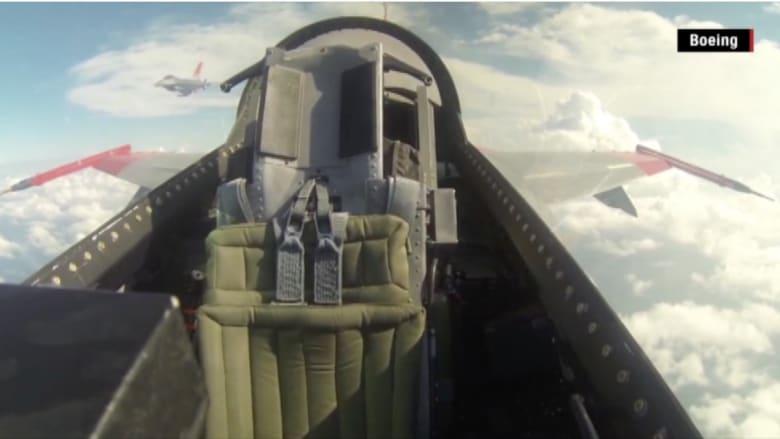بالفيديو.. شاهد مقاتلة F-16 تحلق بدون طيار