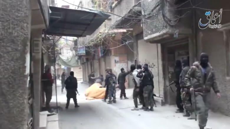 بالفيديو.. داعش في مخيم اليرموك